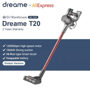 Dreame T20 Handheld Cordless Vacuum Cleaner 25kPa Strong Suction Portable All In One Brush Dust Collector Floor Carpet Aspirator