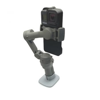 3D printed GoPro 8 Action adapter for DJI OSMO Mobile 3 gimbal handheld parts